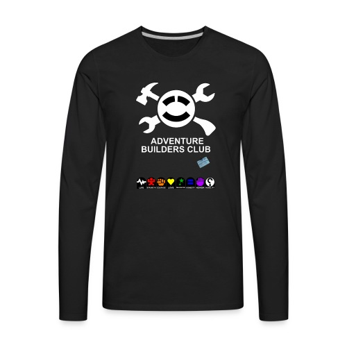 Adventure Builders Club - Men's Premium Long Sleeve T-Shirt