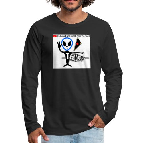 Tshirt NewOTLogo with Crew Back Logo - Men's Premium Long Sleeve T-Shirt