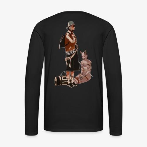 Domineering the streets - Men's Premium Long Sleeve T-Shirt