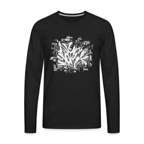 Kostya - NYG Design - REQUIRES WHITE SHIRT COLOR - Men's Premium Long Sleeve T-Shirt