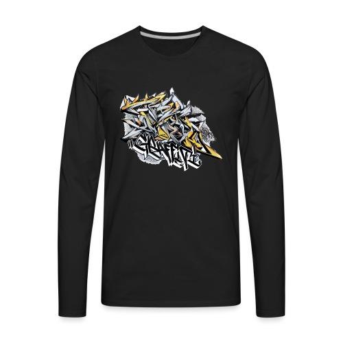 Q2 - NYG Design - Men's Premium Long Sleeve T-Shirt