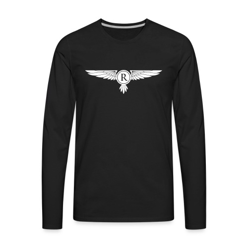 Ruin Gaming White - Men's Premium Long Sleeve T-Shirt