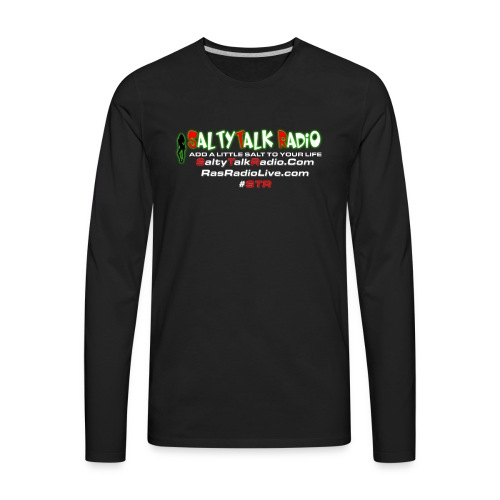 str back png - Men's Premium Long Sleeve T-Shirt