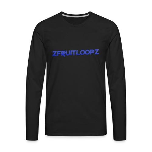 zFruitLoopz Orignal - Light Blue - Men - Men's Premium Long Sleeve T-Shirt