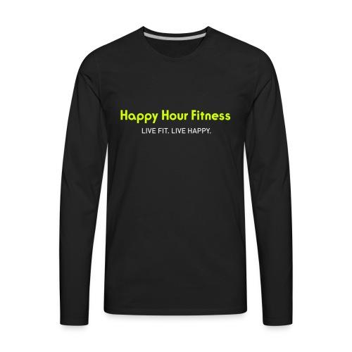 HHF_logotypeandtag - Men's Premium Long Sleeve T-Shirt