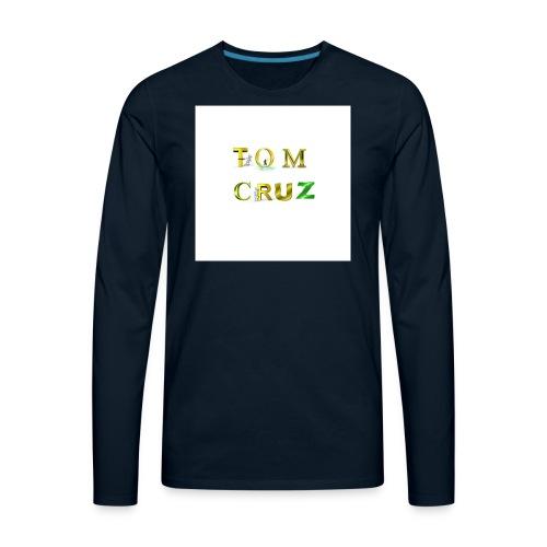 Tom Cruz Logo - Men's Premium Long Sleeve T-Shirt