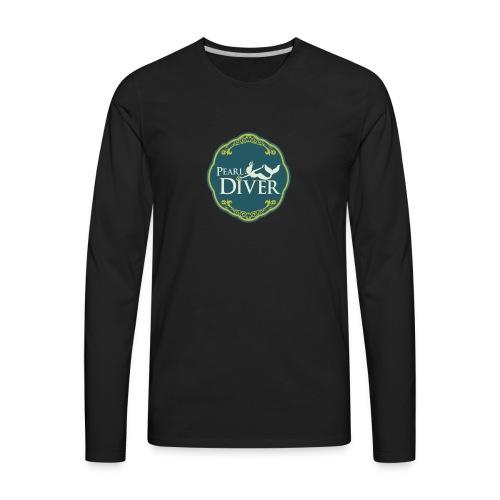 Pearl Diver Swag - Men's Premium Long Sleeve T-Shirt