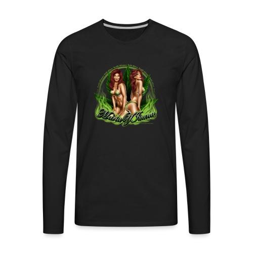Maria y Juana by RollinLow - Men's Premium Long Sleeve T-Shirt