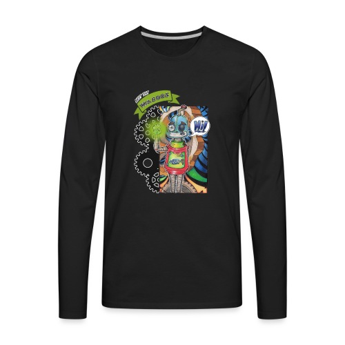 Meet Sam - Wazooz Style - Men's Premium Long Sleeve T-Shirt