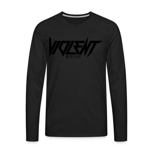 Violent B Apparel - Men's Premium Long Sleeve T-Shirt