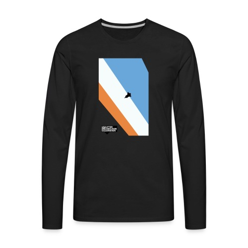 ENTER THE ATMOSPHERE - Men's Premium Long Sleeve T-Shirt