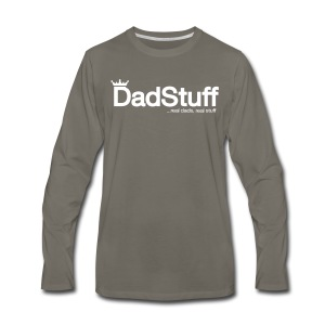 Dadstuff Full Horizontal - Men's Premium Long Sleeve T-Shirt