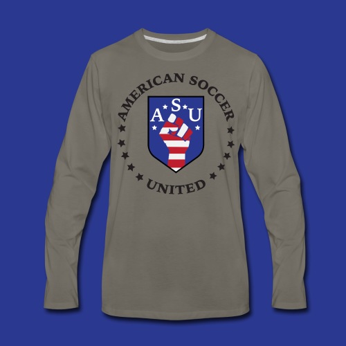 American Soccer United - Men's Premium Long Sleeve T-Shirt