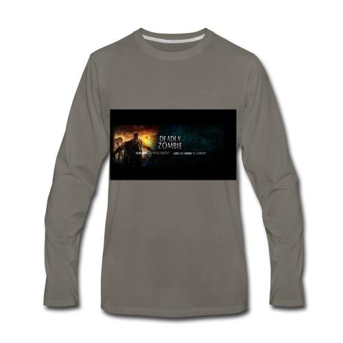 Deadly_Zombies_-1- - Men's Premium Long Sleeve T-Shirt