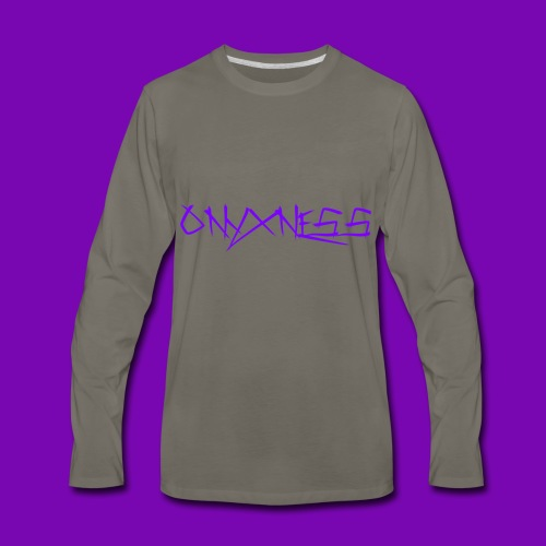 OnyxNess (Purple) - Men's Premium Long Sleeve T-Shirt