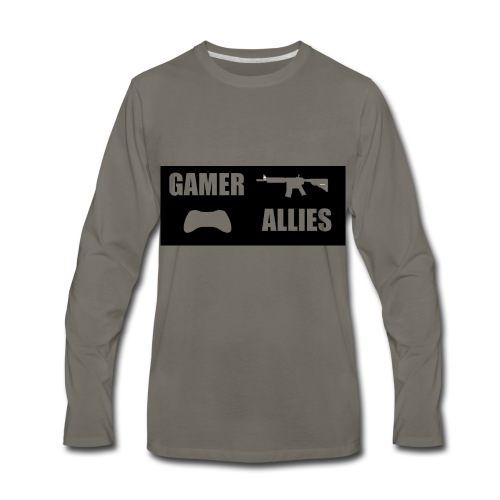 GAMER WEAR - Men's Premium Long Sleeve T-Shirt