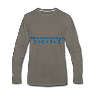 Red 2032 - Men's Premium Long Sleeve T-Shirt