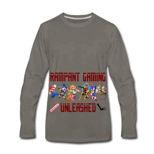 Rampant Gaming Unleashed - Men's Premium Long Sleeve T-Shirt