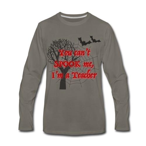 Spooky Teacher - Men's Premium Long Sleeve T-Shirt