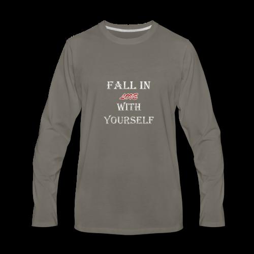FILWY Distressed - Men's Premium Long Sleeve T-Shirt
