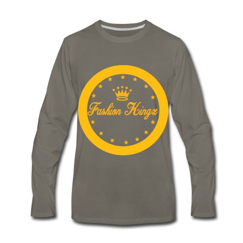 Fashion Kingz circle - Men's Premium Long Sleeve T-Shirt