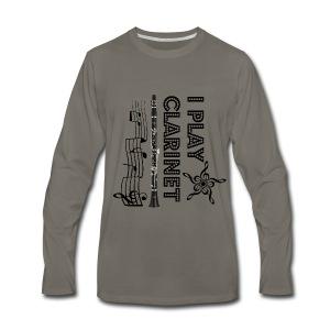i play clarinet - Men's Premium Long Sleeve T-Shirt