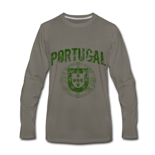 Vintage Portugal - Men's Premium Long Sleeve T-Shirt