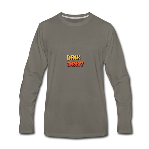 Drik Army T-Shirt - Men's Premium Long Sleeve T-Shirt
