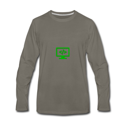 Coding Codex - Men's Premium Long Sleeve T-Shirt