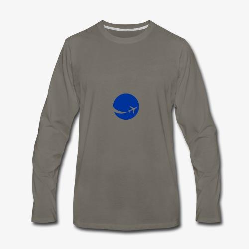 World flyer - Men's Premium Long Sleeve T-Shirt