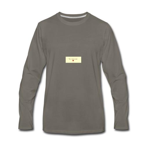 No time for Limits - Men's Premium Long Sleeve T-Shirt