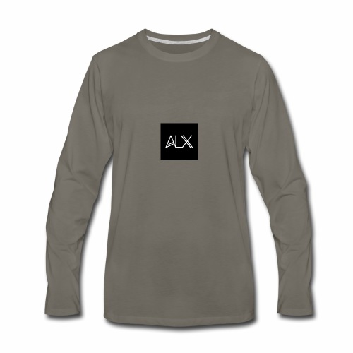 ALX LOGO - Men's Premium Long Sleeve T-Shirt