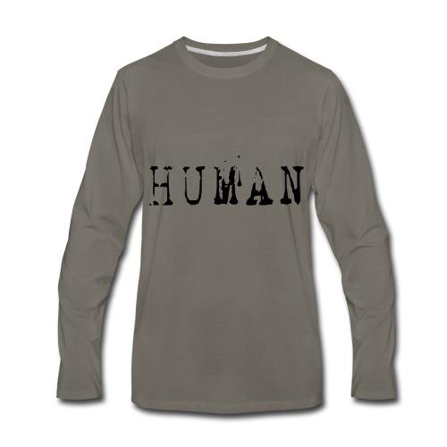 Human - Men's Premium Long Sleeve T-Shirt