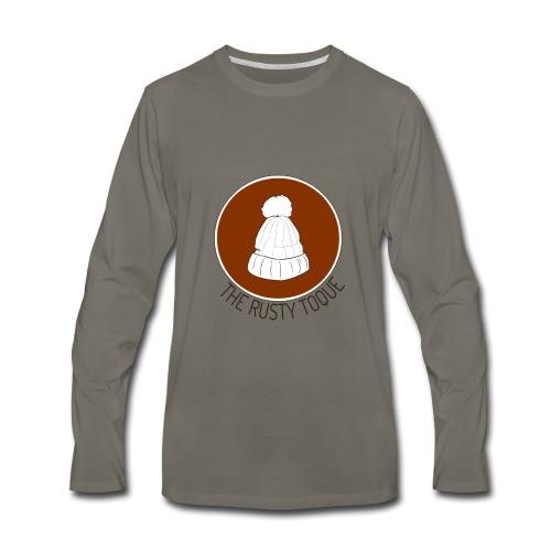 The Rusty Toque Brown Logo 2 - Men's Premium Long Sleeve T-Shirt
