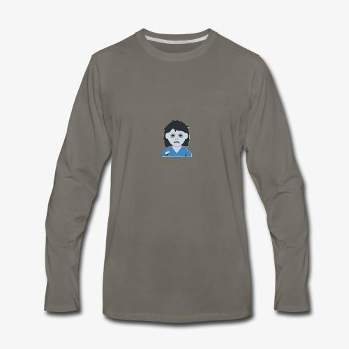 ZOMBIE COLLECTION GIRL - Men's Premium Long Sleeve T-Shirt