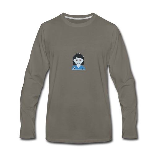 ZOMBIE COLLECTION GIRL - Men's Premium Long Sleeve T-Shirt
