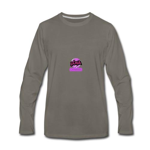 CHANNEL JANA - Men's Premium Long Sleeve T-Shirt