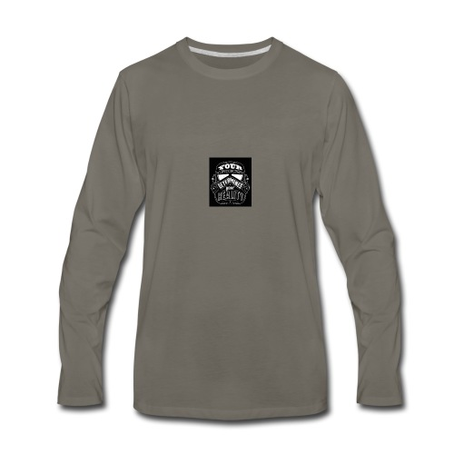 Quote - Men's Premium Long Sleeve T-Shirt
