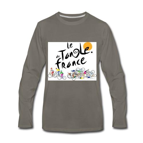 Le Tangle de France - Men's Premium Long Sleeve T-Shirt