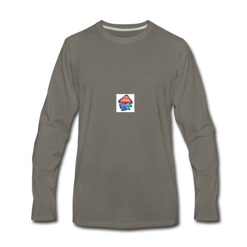 shrooms1 - Men's Premium Long Sleeve T-Shirt