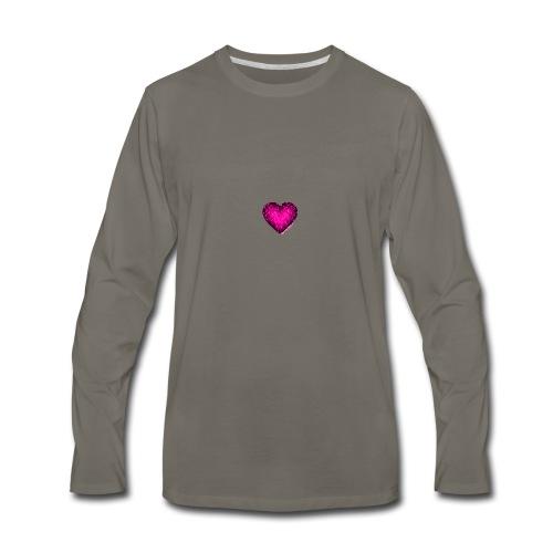 Pink - Men's Premium Long Sleeve T-Shirt