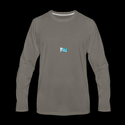 Futuristic Networks - Men's Premium Long Sleeve T-Shirt