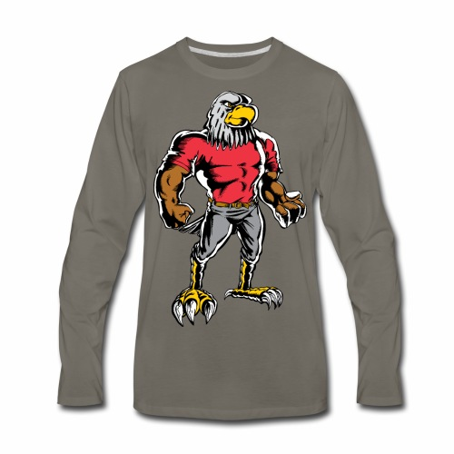 EagleStandingNeoClassic - Men's Premium Long Sleeve T-Shirt