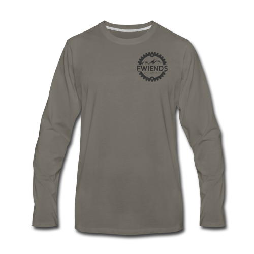 Fwiends Logo - Men's Premium Long Sleeve T-Shirt