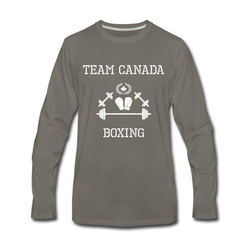 Team Canada Boxing - Men's Premium Long Sleeve T-Shirt
