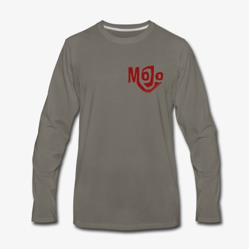 MojoLightRed - Men's Premium Long Sleeve T-Shirt