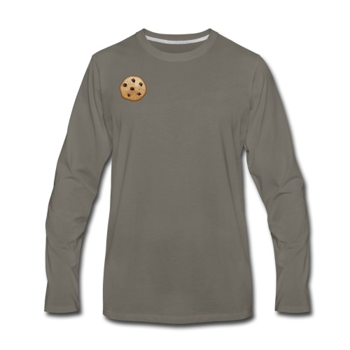 Chocolate Chip - Men's Premium Long Sleeve T-Shirt
