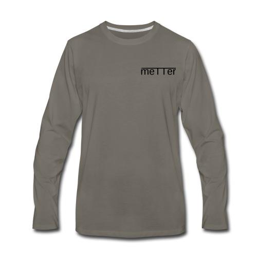 metter - Men's Premium Long Sleeve T-Shirt