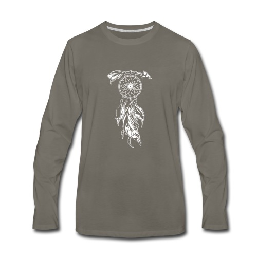 Dream Catcher - Graphic T-shirt and Collections - Men's Premium Long Sleeve T-Shirt
