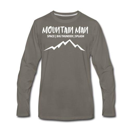 Mountain Man - Men's Premium Long Sleeve T-Shirt